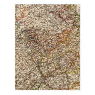 Rhenish Prussia, Westphalia, HesseNassau Postcard