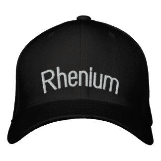 Rhenium Embroidered Baseball Hat