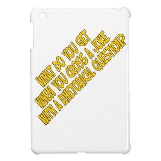 Rhetorical joke iPad mini covers