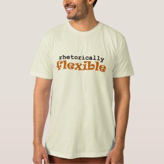 Rhetorically Flexible Black and Orange (men's) Tshirts