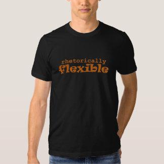 Rhetorically Flexible Orange (men's) Tee Shirts