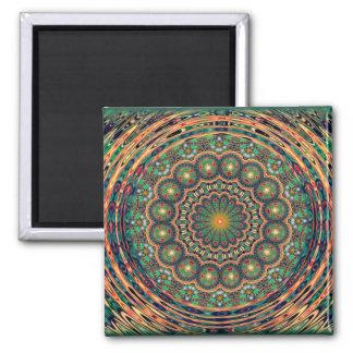 "Rhett Headley Mandala magnet ""Christmas"""
