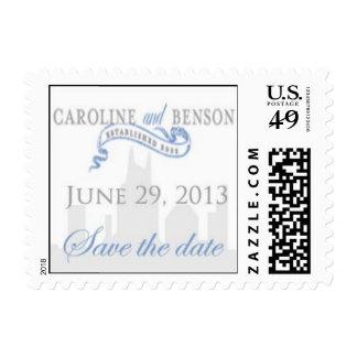 Rhett Sloan save-the-date stamp