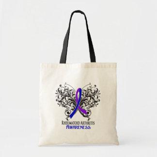 Rheumatoid Arthritis Awareness Butterfly Budget Tote Bag