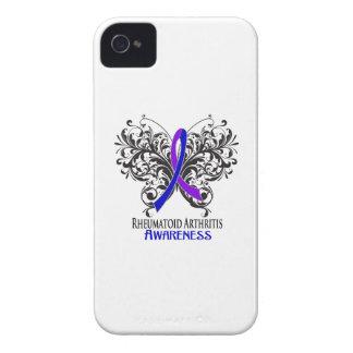 Rheumatoid Arthritis Awareness Butterfly iPhone 4 Cases