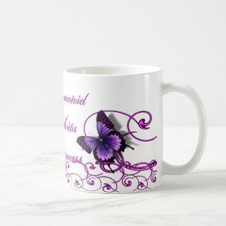 Rheumatoid Arthritis Awareness Butterfly Mug