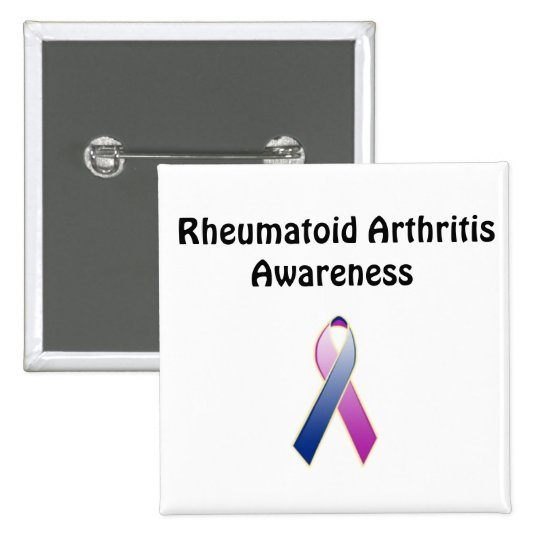 Rheumatoid Arthritis Awareness Button