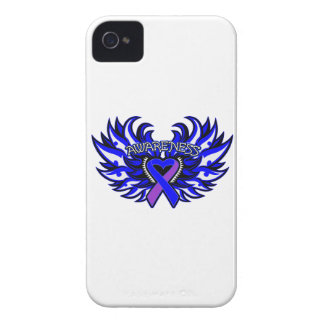 Rheumatoid Arthritis Awareness Heart Wings iPhone 4 Covers