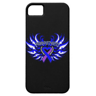 Rheumatoid Arthritis Awareness Heart Wings iPhone 5 Cover