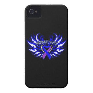 Rheumatoid Arthritis Awareness Heart Wings iPhone 4 Case-Mate Case