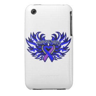 Rheumatoid Arthritis Awareness Heart Wings Case-Mate iPhone 3 Case