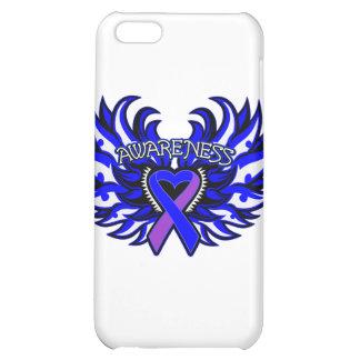 Rheumatoid Arthritis Awareness Heart Wings Cover For iPhone 5C