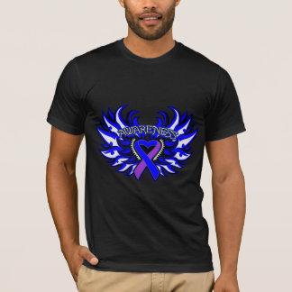 Rheumatoid Arthritis Awareness Heart Wings T-Shirt