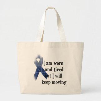 Rheumatoid Arthritis Awareness :: I am worn and... Tote Bags