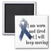 Rheumatoid Arthritis Awareness :: I am worn and... Magnet
