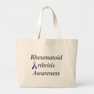 Rheumatoid Arthritis Awareness Large Tote Bag