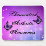 Rheumatoid Arthritis Awareness Mouse Pad
