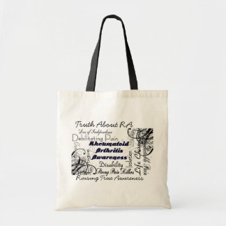 Rheumatoid Arthritis Awareness Truth Tote Bag
