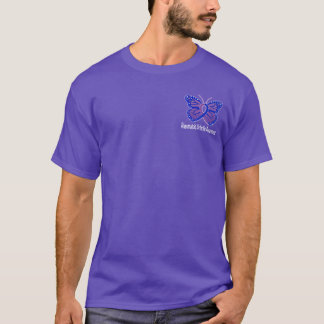 Rheumatoid Arthritis Butterfly Awareness Ribbon T-Shirt