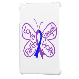 Rheumatoid Arthritis Butterfly Inspiring Words iPad Mini Case