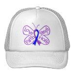 Rheumatoid Arthritis Butterfly Inspiring Words Trucker Hat