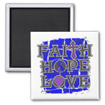 Rheumatoid Arthritis Faith Hope Love Refrigerator Magnet