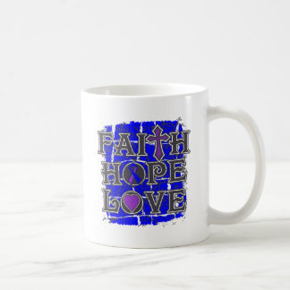 Rheumatoid Arthritis Faith Hope Love Classic White Coffee Mug