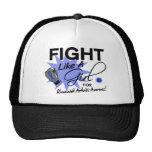 Rheumatoid Arthritis Fight Like A Girl 11.3 Trucker Hats