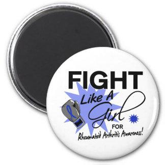 Rheumatoid Arthritis Fight Like A Girl 11.3 Magnets