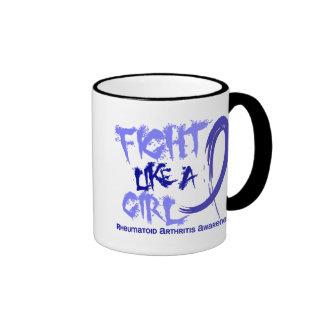 Rheumatoid Arthritis Fight Like A Girl 5 3 Mug