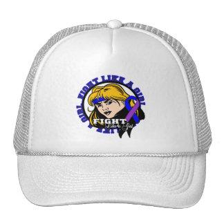 Rheumatoid Arthritis Fight Like A Girl Attitude Trucker Hat