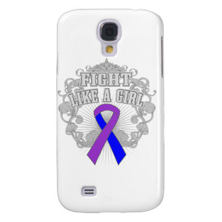 Rheumatoid Arthritis Fight Like A Girl Fleurish Samsung Galaxy S4 Covers