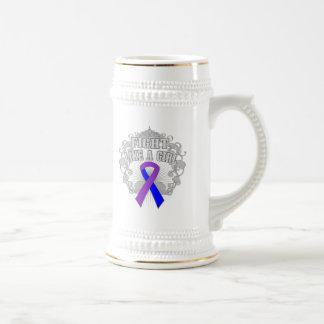 Rheumatoid Arthritis Fight Like A Girl Fleurish Mug