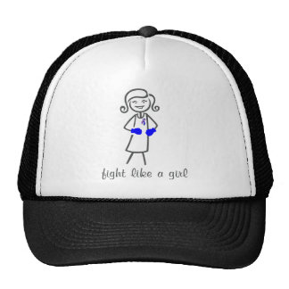 Rheumatoid Arthritis  Fight Like A Girl (Retro) Trucker Hat