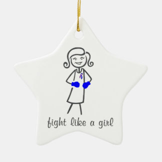 Rheumatoid Arthritis  Fight Like A Girl (Retro) Ornament