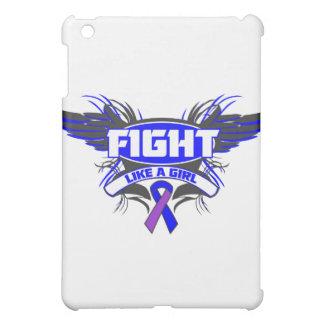 Rheumatoid Arthritis Fight Like a Girl Wings.png Cover For The iPad Mini