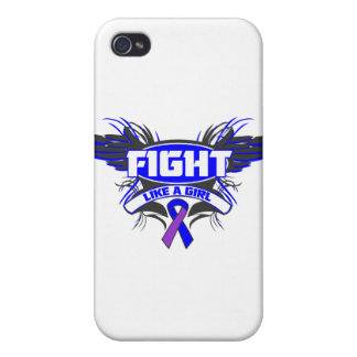 Rheumatoid Arthritis Fight Like a Girl Wings.png iPhone 4/4S Cover