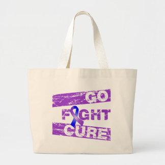 Rheumatoid Arthritis Go Fight Cure Canvas Bag