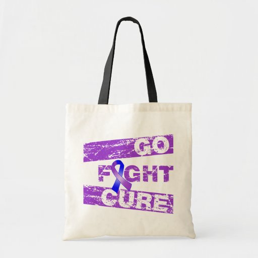 Rheumatoid Arthritis Go Fight Cure Budget Tote Bag