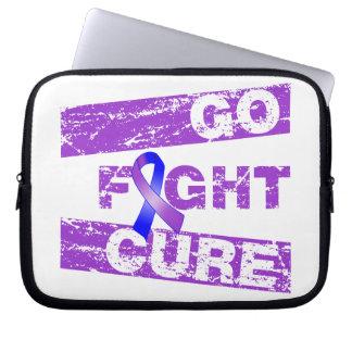 Rheumatoid Arthritis Go Fight Cure Laptop Sleeve