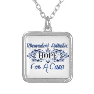 Rheumatoid Arthritis Hope for a Cure Necklace