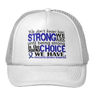 Rheumatoid Arthritis How Strong We Are Trucker Hat