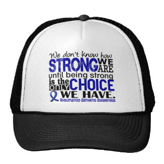 Rheumatoid Arthritis How Strong We Are Hat