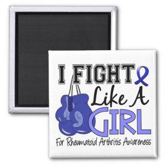 Rheumatoid Arthritis I Fight Like A Girl 15.5 Fridge Magnets