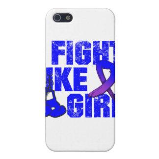 Rheumatoid Arthritis I Fight Like A Girl (Grunge) iPhone 5 Cases