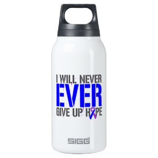 Rheumatoid Arthritis I Will Never Give Up Hope 10 Oz Insulated SIGG Thermos Water Bottle
