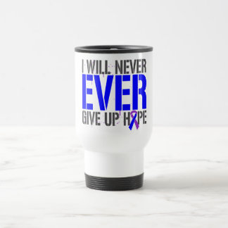 Rheumatoid Arthritis I Will Never Give Up Hope 15 Oz Stainless Steel Travel Mug