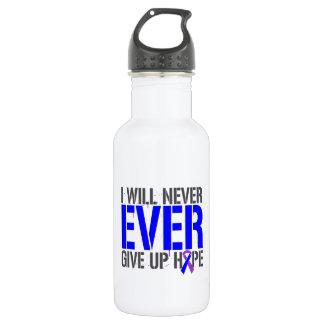 Rheumatoid Arthritis I Will Never Give Up Hope 18oz Water Bottle