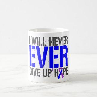 Rheumatoid Arthritis I Will Never Give Up Hope Classic White Coffee Mug