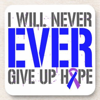 Rheumatoid Arthritis I Will Never Give Up Hope Drink Coaster
